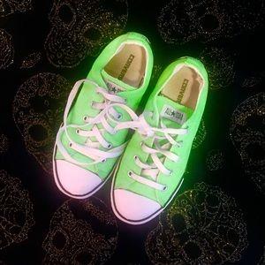 Green Converse💚✨✨✨